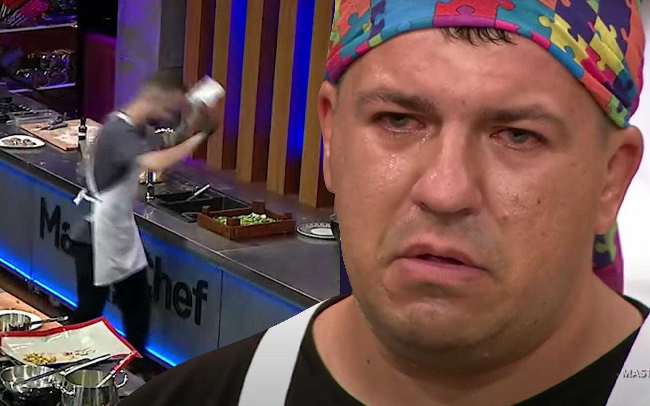 Gözyaşları sel oldu! Fark edince tezgahı yumrukladı TV8 Masterchef'te işte kadroya son dahil olan isim...