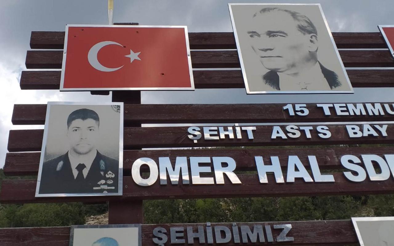 Antalya'da Şehit Ömer Halisdemir Parkı'nda Türk bayrağına ateş açtılar