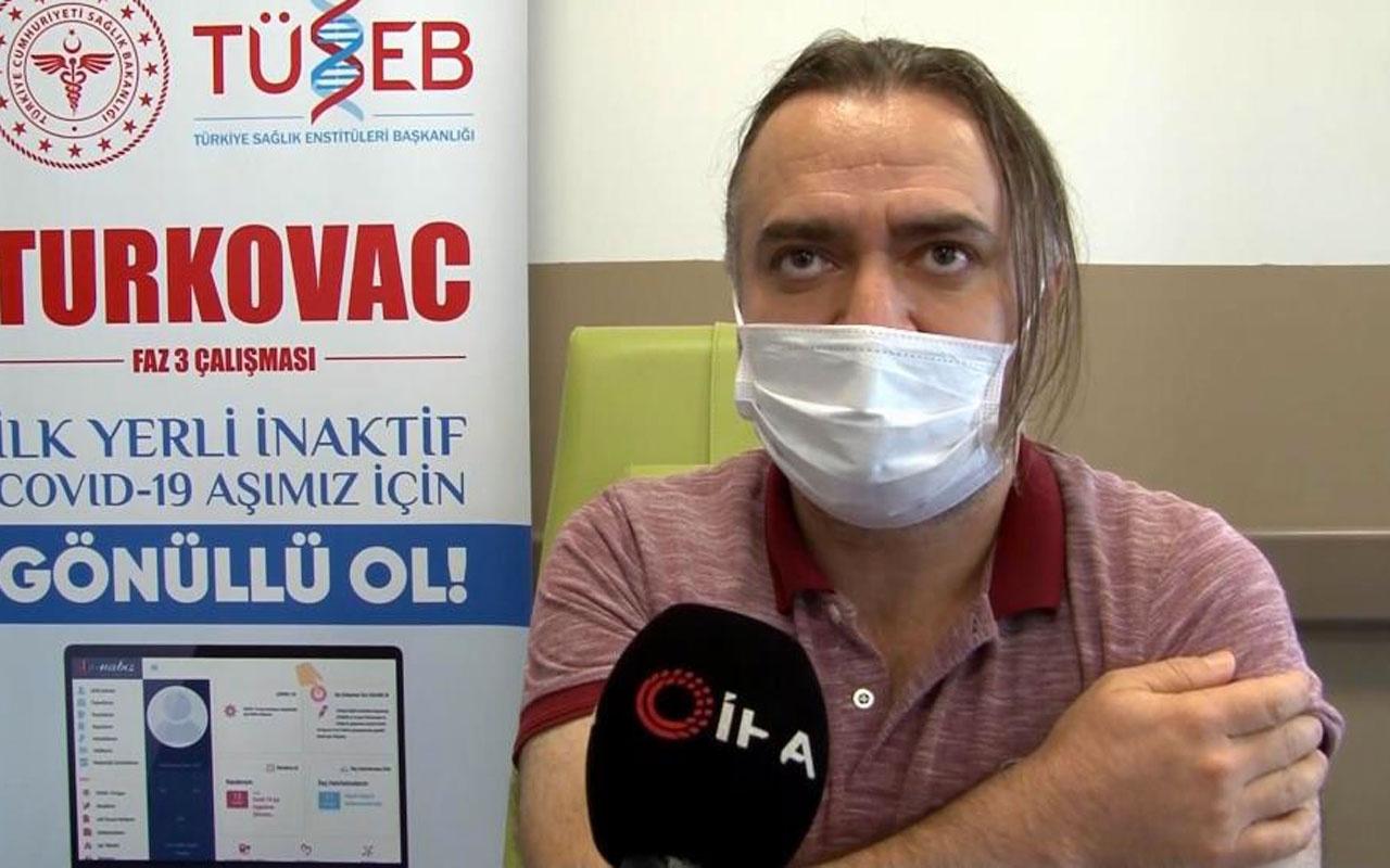 Kayseri'de 10 gönüllüye yerli aşı TURKOVAC uygulandı yan etki açıklaması