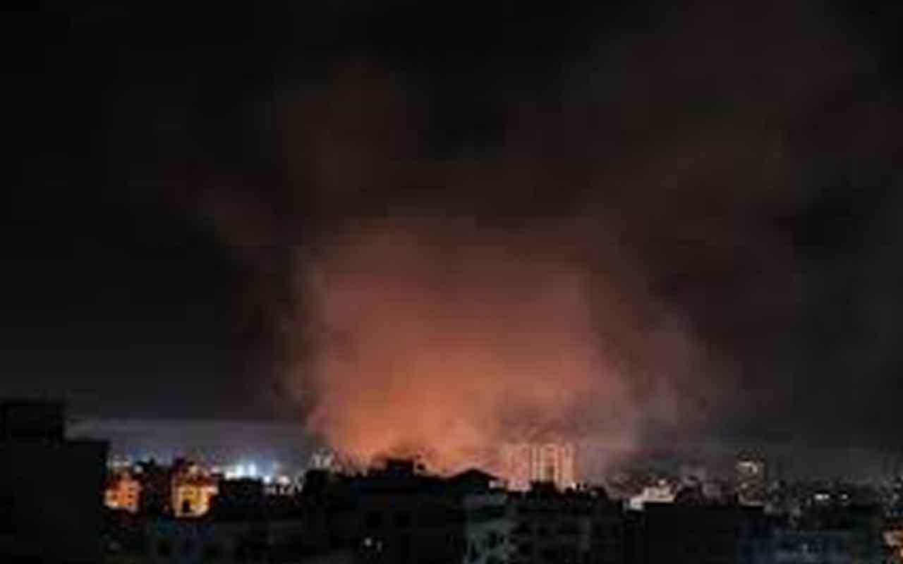 İsrail savaş uçakları Gazze'ye saldırı düzenledi!