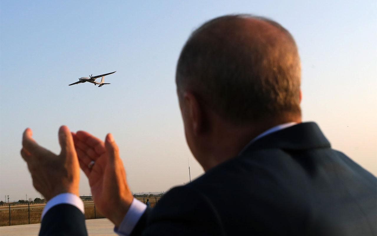 Cumhurbaşkanı Erdoğan Bayraktar AKINCI TİHA'nın özelliklerini içeren grafik paylaştı