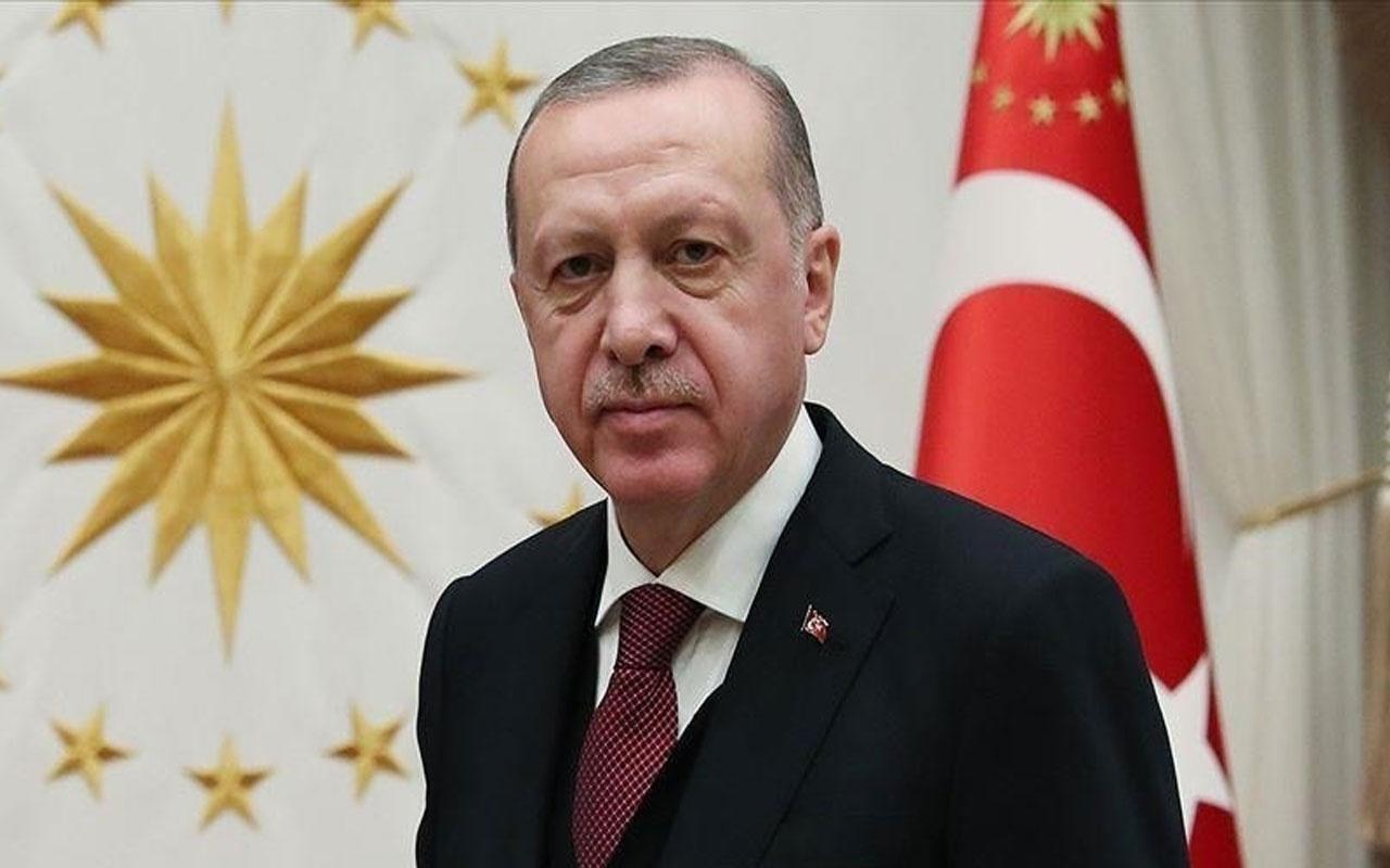 Cumhurbaşkanı Erdoğan'dan Özbekistan'a tebrik mesajı