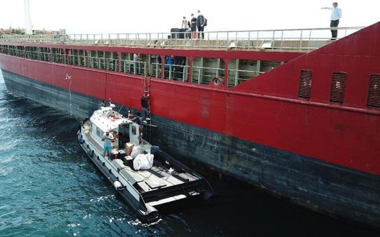 Kocaeli'de gemide pozitif vakalar çıktı mürettebat karantinaya alındı