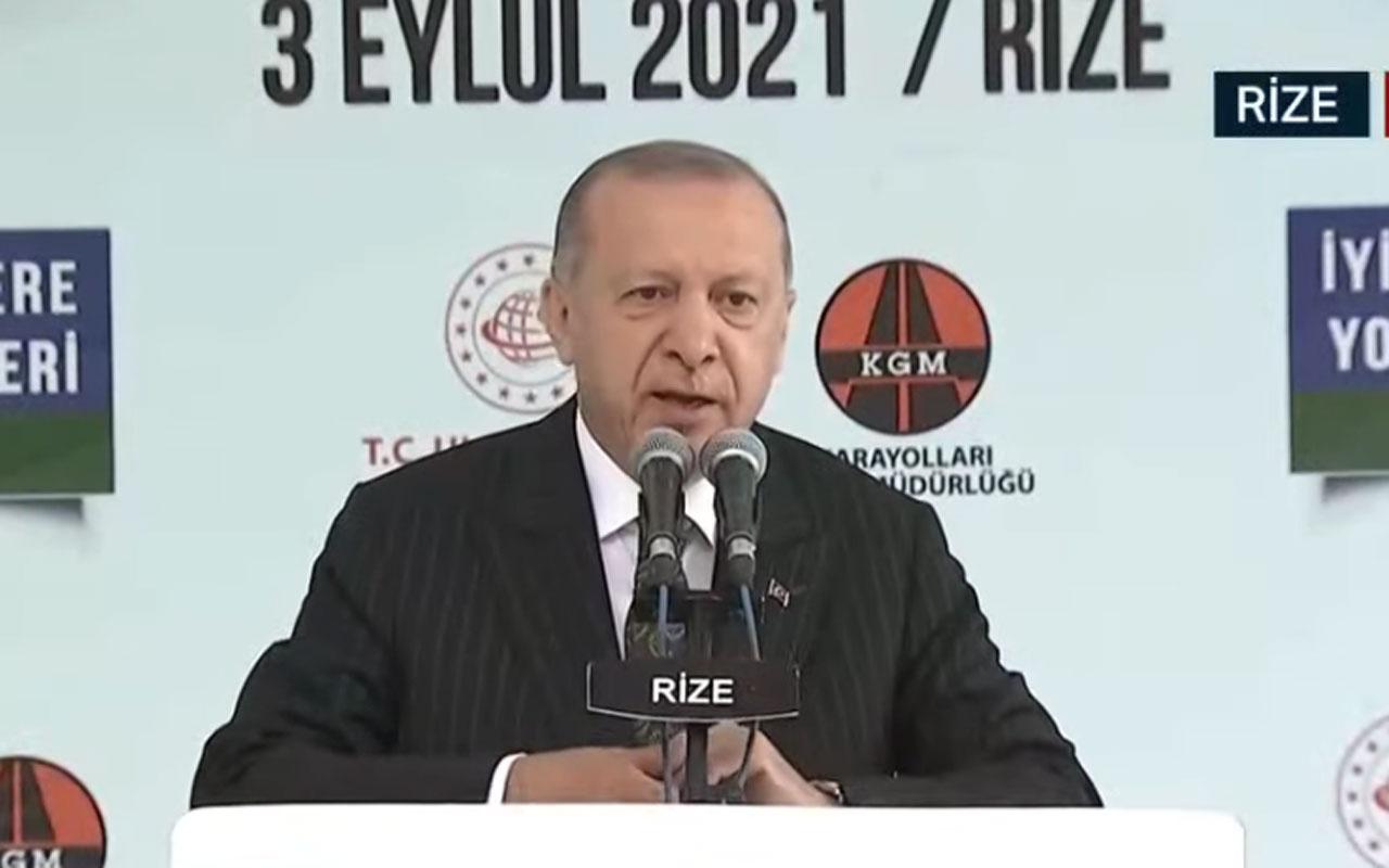 Cumhurbaşkanı Erdoğan: En çok büyüyen ikinci ülke Türkiye
