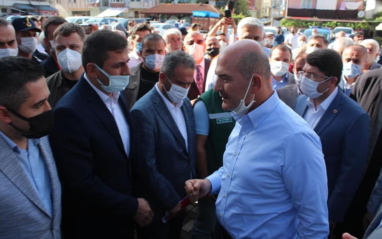 İçişleri Bakanı Süleyman Soylu: Sel afetinin bilançosu 3,5 milyar TL