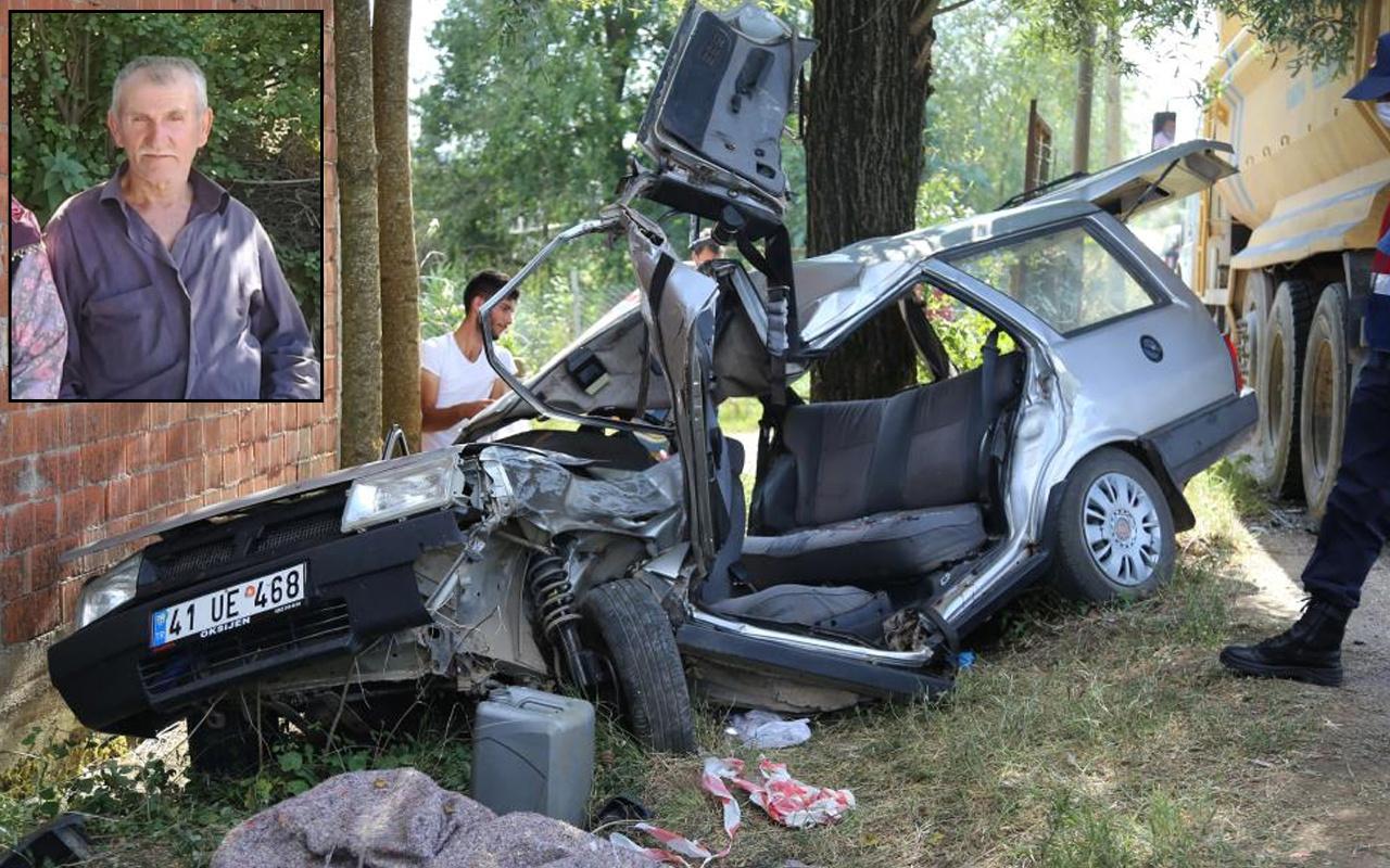 Kocaeli'de feci kazada can verdi! Yürek yakan detay ortaya çıktı: Meğer...