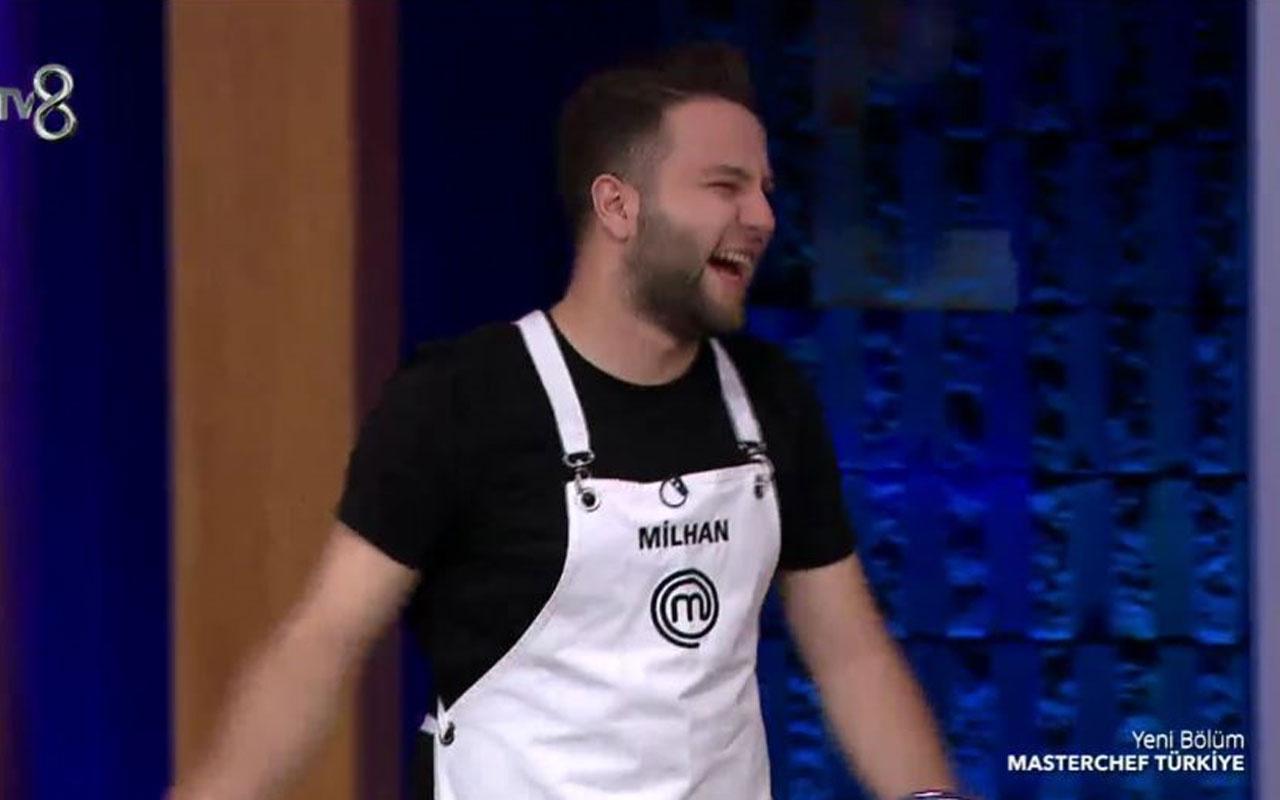 Tv8 MasterChef Milhan'dan dans şov İbrahim Tatlıses'in Nankör Kedi şarkısıyla şefler coştu