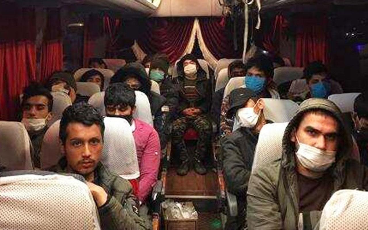 Ankara'da düzensiz göçmen operasyonu