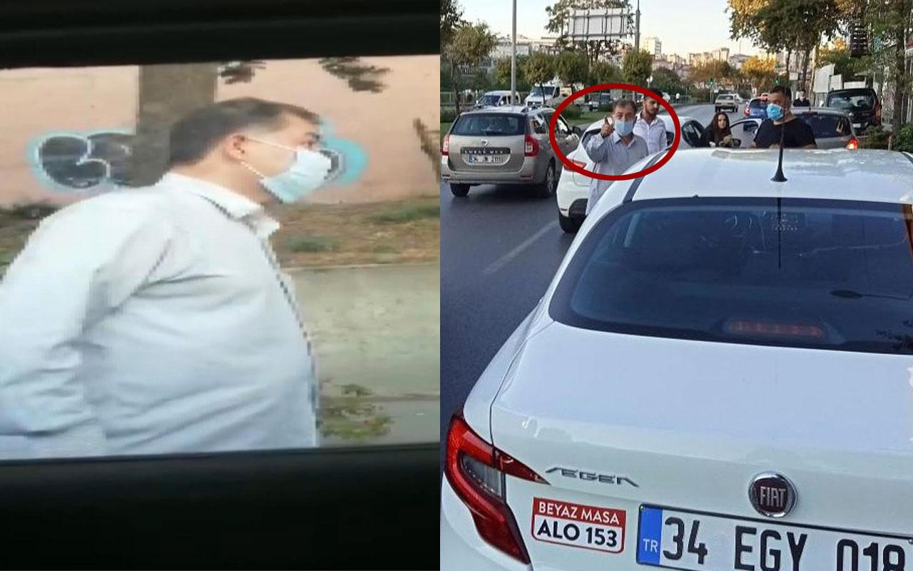 'Ekrem İmamoğlu'nun danışmanıyım' dedi taşla içinde 2 yaşında bebek olan arabanın camını kırdı