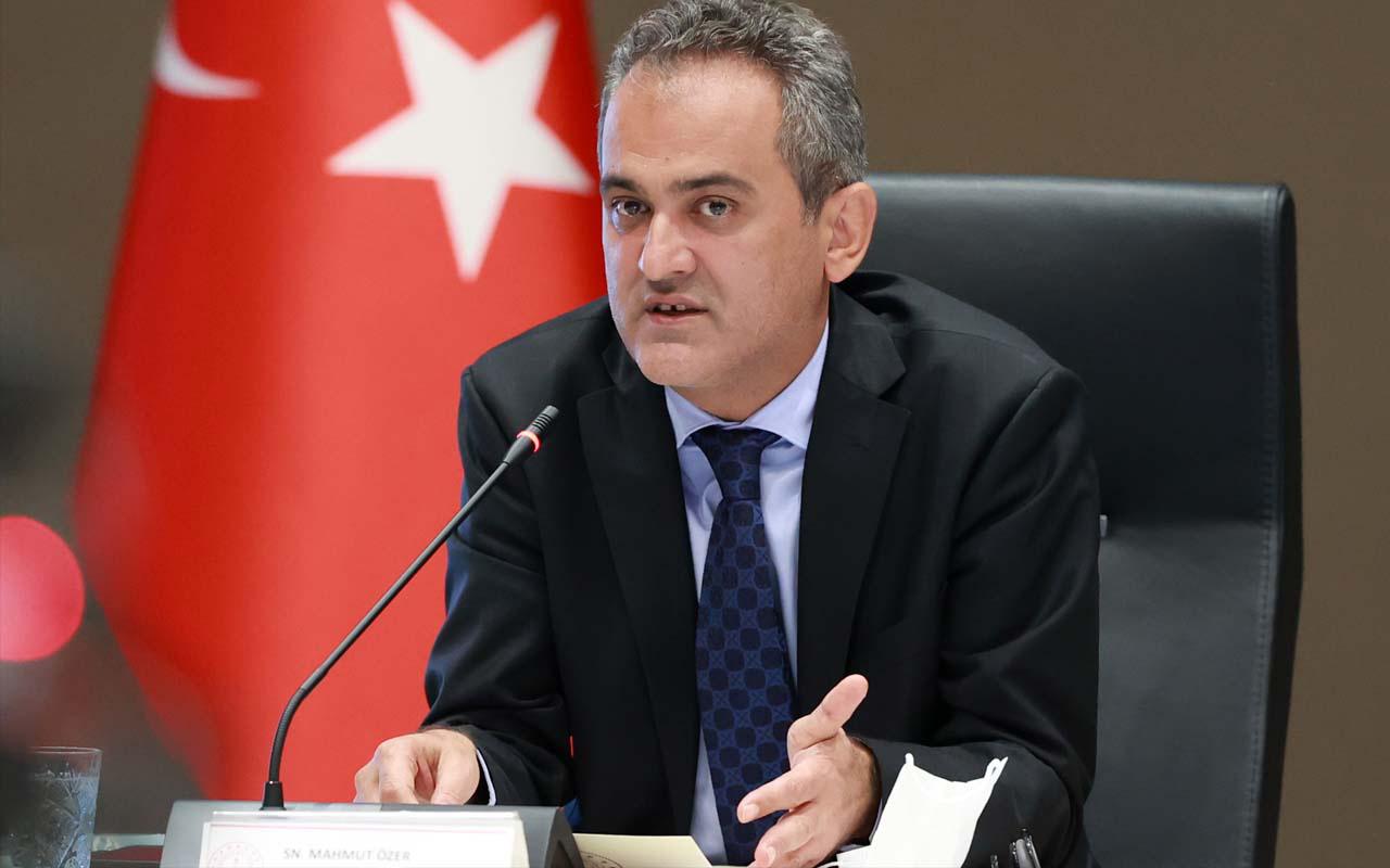 Milli Eğitim Bakanı Mahmut Özer açıkladı: Patlayan vakalar okula devamı etkiledi mi?