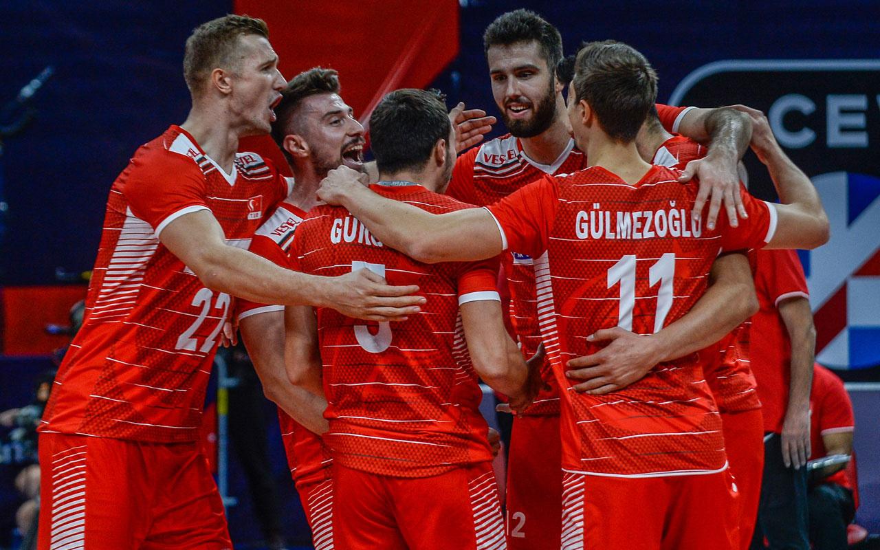 A Milli Erkek Voleybol Takımı Sırbistan'a yenilerek turnuvadan elendi