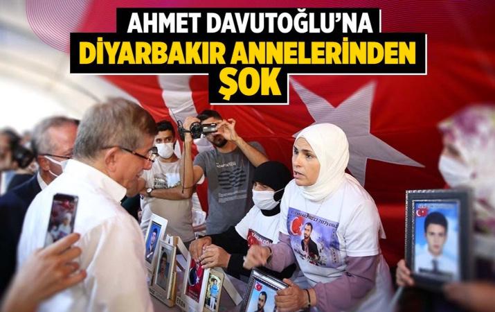 Ahmet Davutoğlu'na Diyarbakır annelerinden şok!