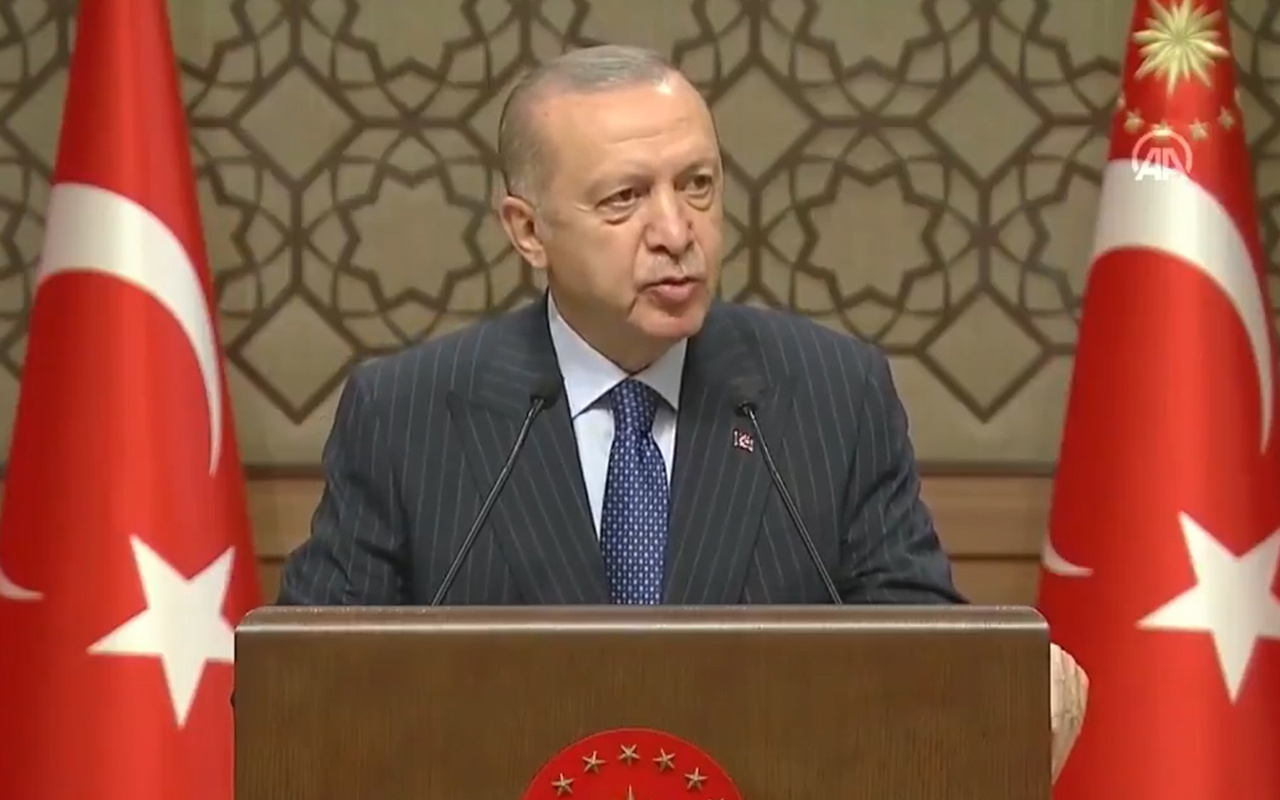 Cumhurbaşkanı Erdoğan: 2023 Türkiye ve Türk milletinin yeniden şahlanışının sembolüdür