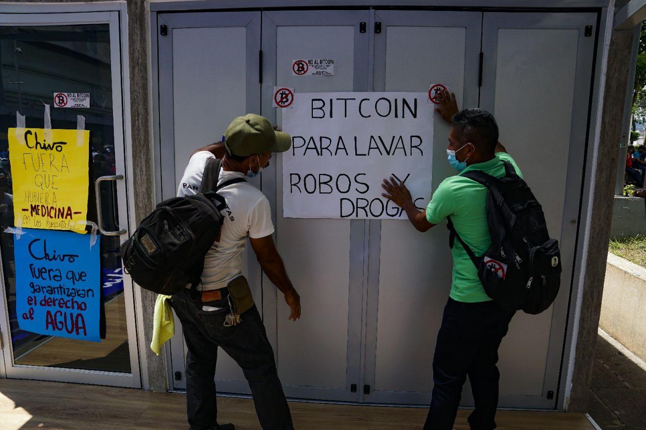 Bitcoin kararı sonrası El Salvador savaş alanına döndü