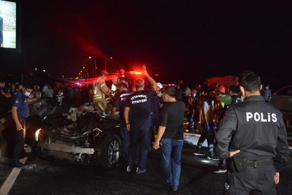Beykoz'da lastiği patlayan otomobil kazaya neden oldu: 3 ölü, 3 yaralı