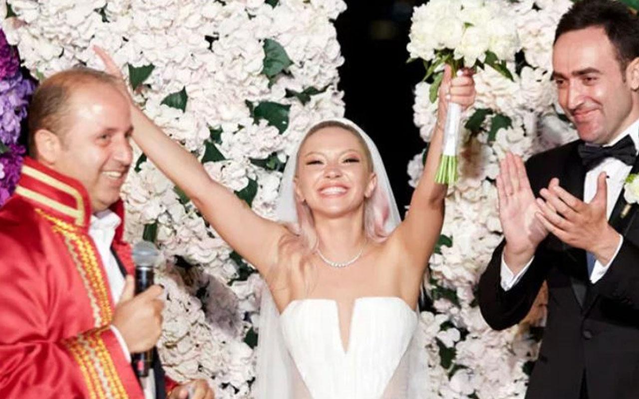 Ece Seçkin 4 gelinlikle evlendi! Eşi Çağrı Terlemez pilotluk yapıyor