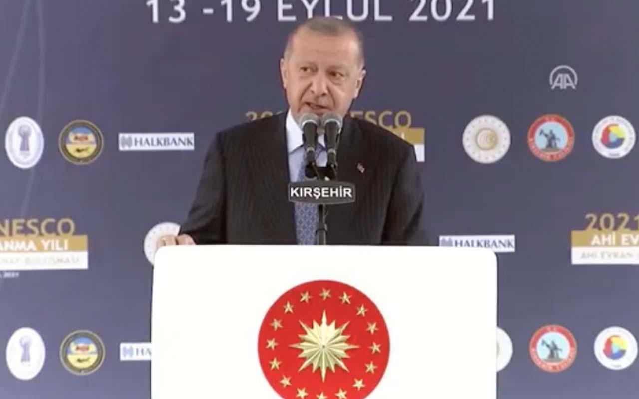 Cumhurbaşkanı Erdoğan'dan hayat pahalılığı ve fahiş zam açıklaması