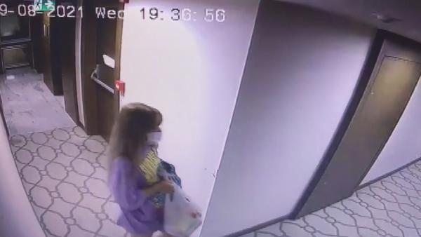 Otel odasında hayatını kaybeden Sedanur Şen'in son görüntüleri ortaya çıktı