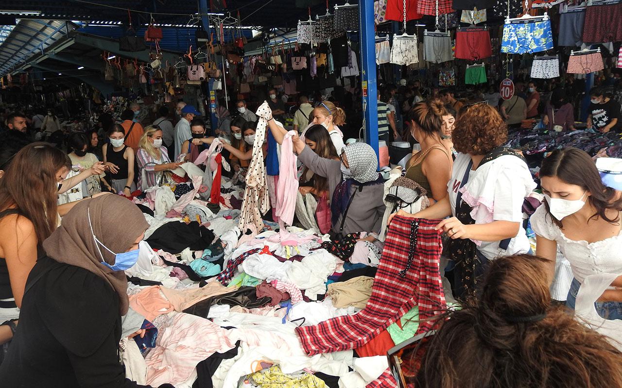 Turistler Euro bozdurup pazar tezgahlarını yağmaladı!