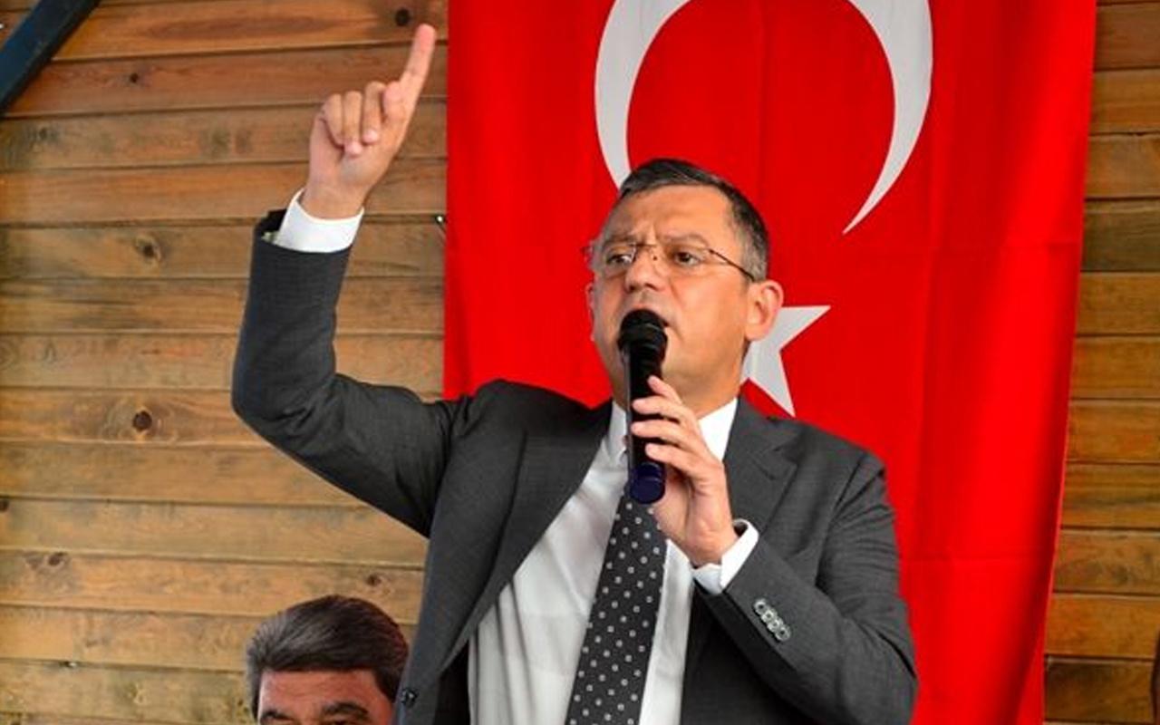 Özgür Özel'den CHP ve İYİ Parti'nin cumhurbaşkanı adayına ilişkin açıklama