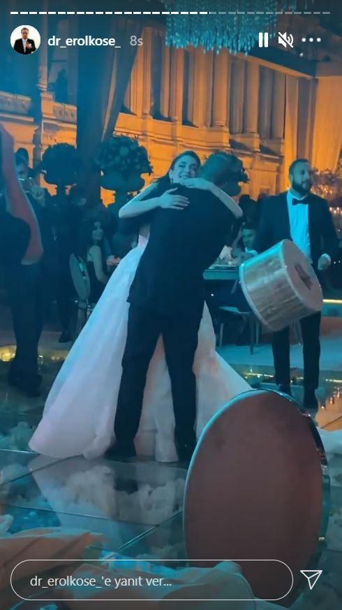 Orhan Gencebay'ın oğlu Gökhan evlendi Çırağan'a ünlü yağdı!
