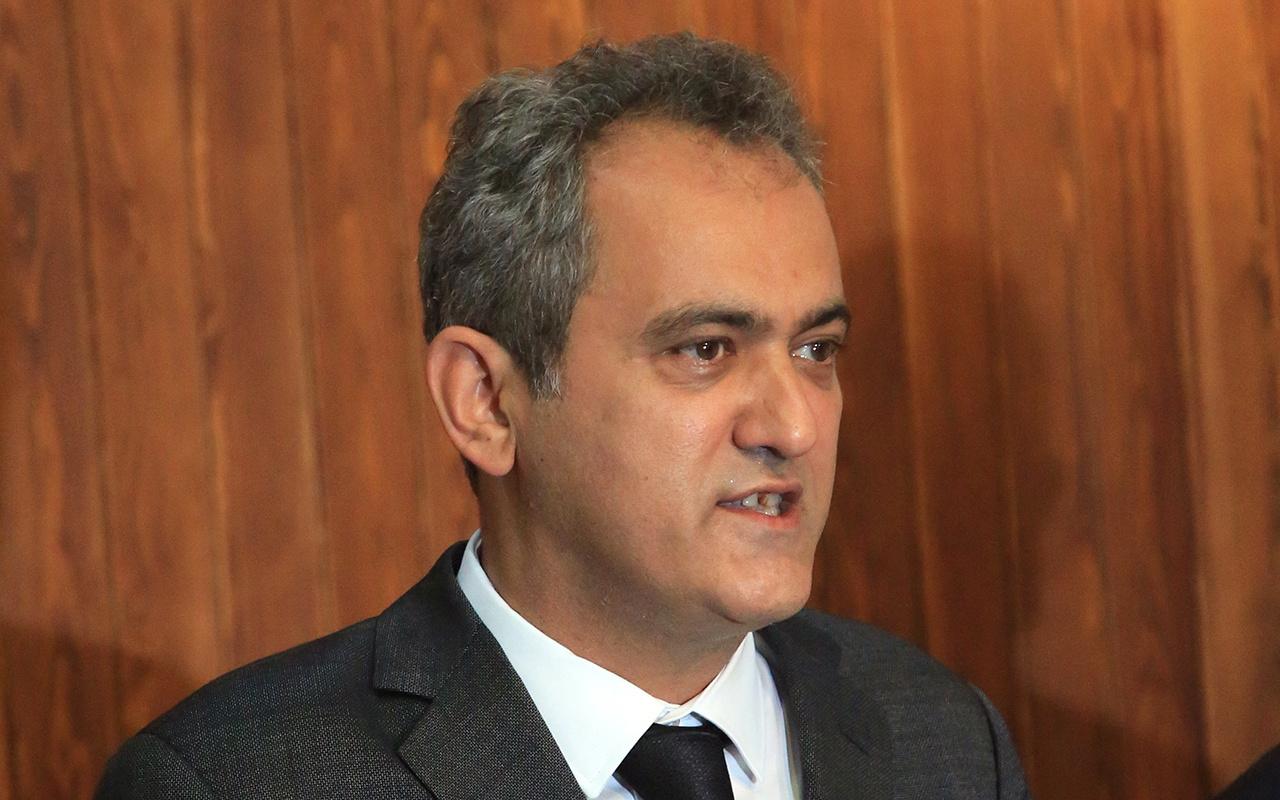 Milli Eğitim Bakanı Mahmut Özer: Tüm sınıfları kapatılan okul yok