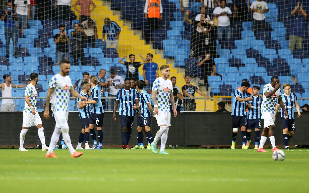 Çaykur Rizespor'u deviren Adana Demirspor 27 yıl sonra Süper Lig'de maç kazandı