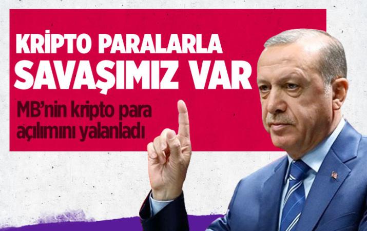 Erdoğan'dan flaş kripto para sözleri