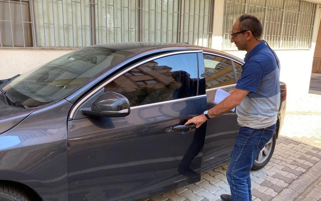 Üsküdar'da aldığı ikinci el aracın önü benzinli arkası dizel çıktı