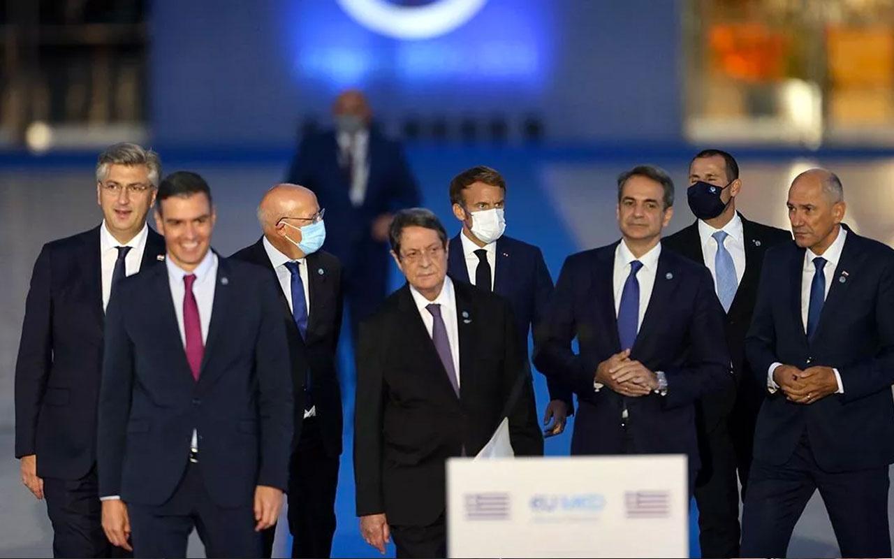 Med9 ortak bildirisinde yine aynı safsatalar! Türkiye'den 9 AB üyesi ülkeye sert tepki