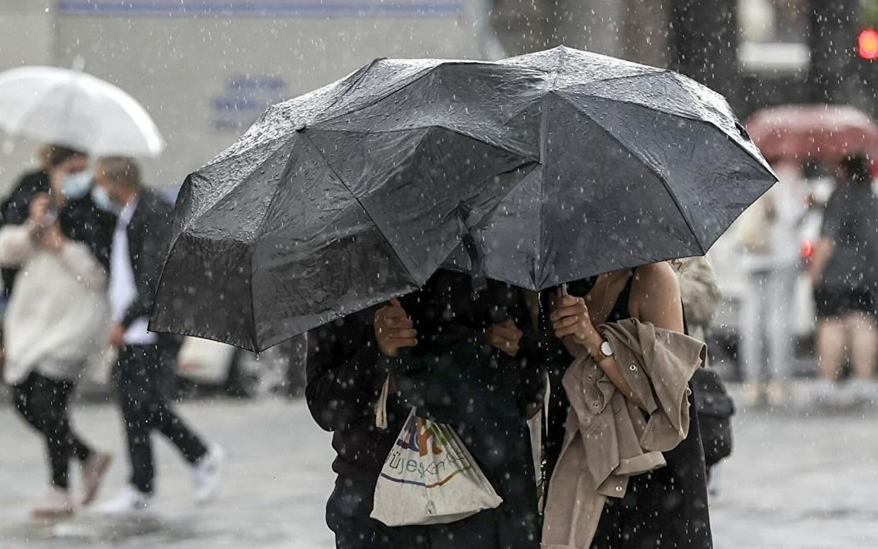 Meteoroloji il il uyardı! Çok kuvvetli yağış geliyor: Bu saatlere dikkat İstanbul Ankara Eskişehir...