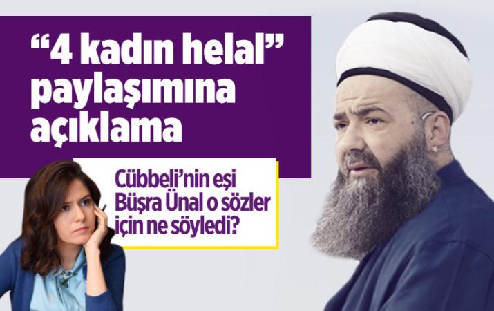 """Cübbeli Ahmet'ten """"4 eş helal"""" açıklaması!"""