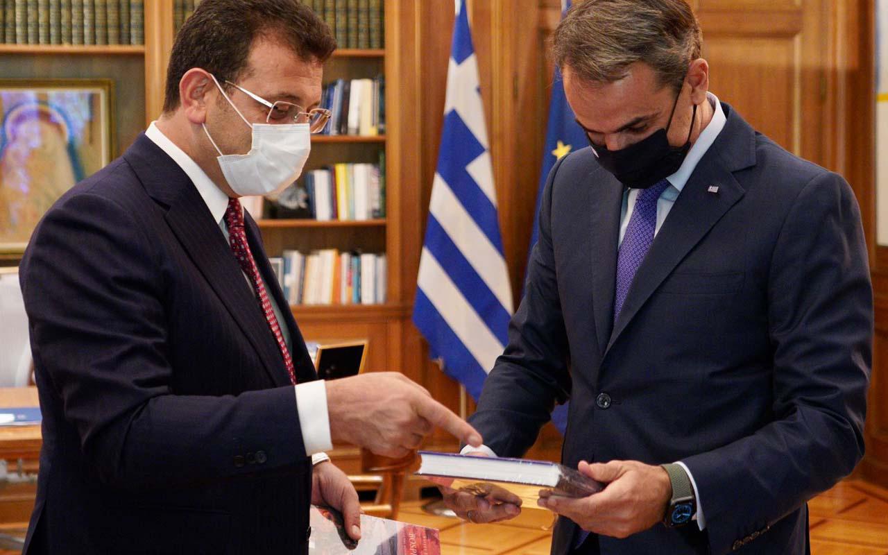 Ekrem İmamoğlu'na Yunanistan'dan davet! Başbakan Miçotakis ve Bakoyannis ile görüştü