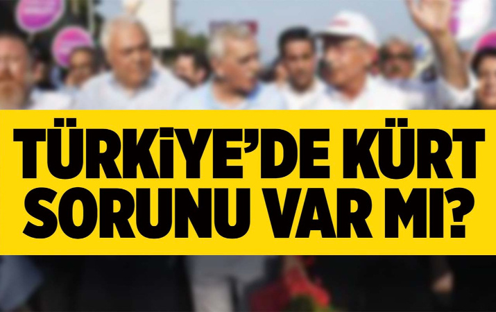 Türkiye'de kürt sorunu var mı?