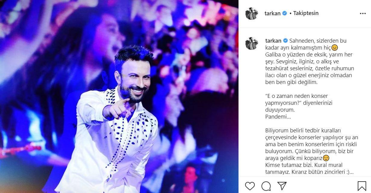 Superstar Tarkan'dan ikinci aşı paylaşımı: Gel güzelim, gel acımayacak!