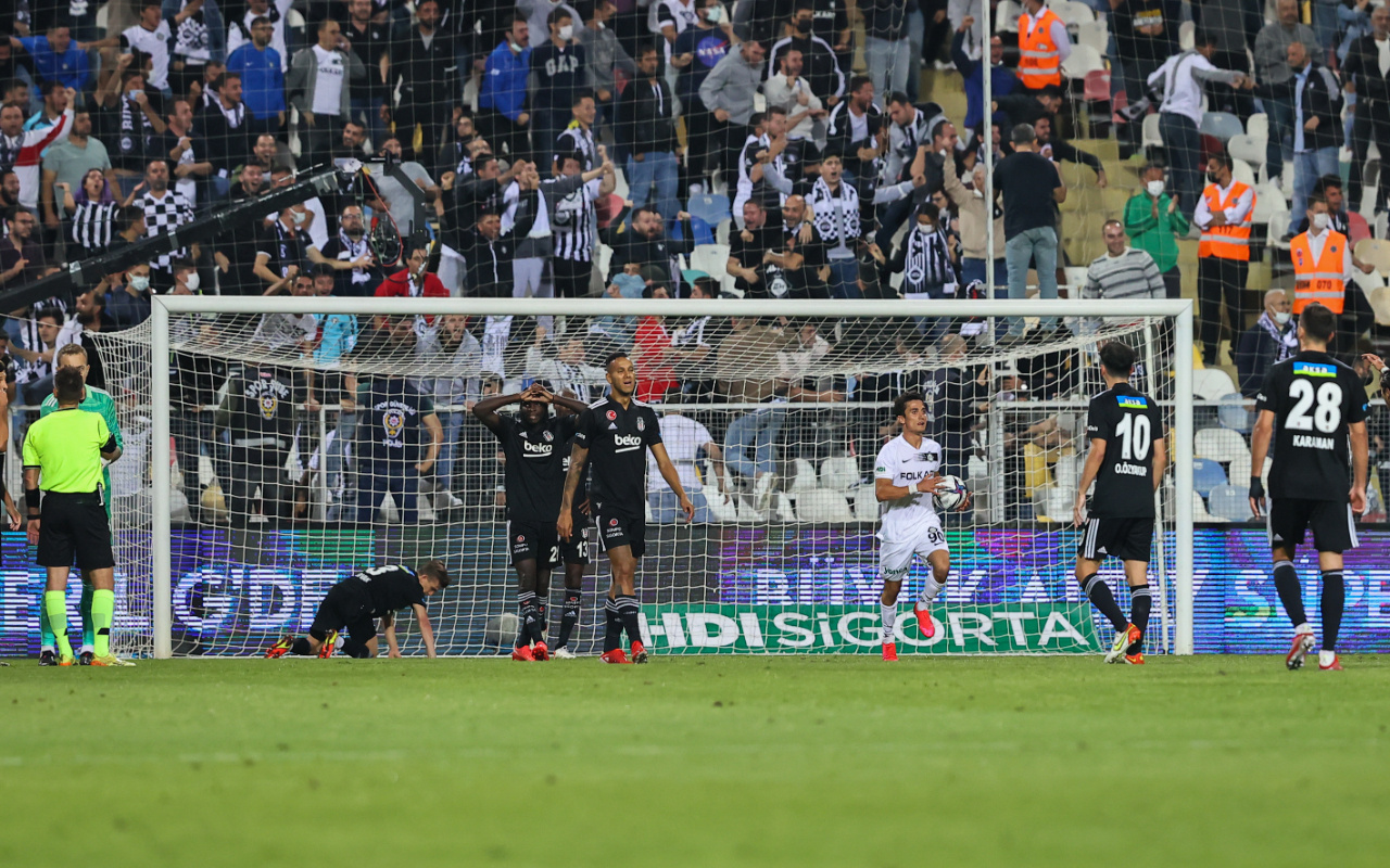 Altay Beşiktaş maçı golleri ve geniş özeti