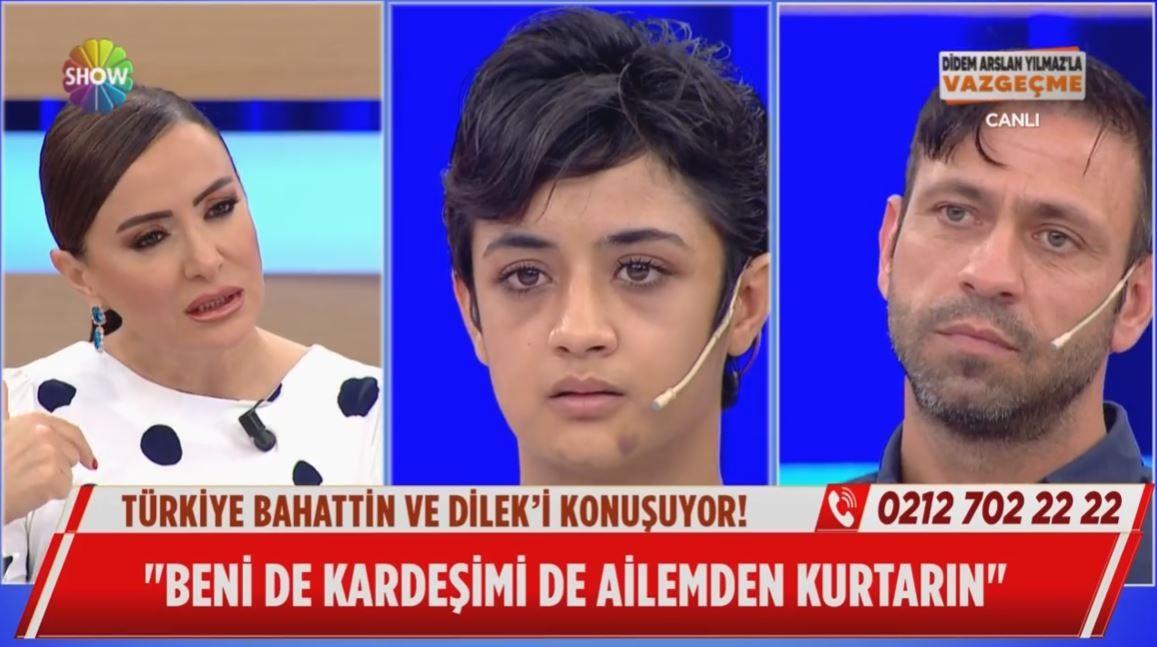 SHOW TV Didem Arslan'la Vazgeçme'de Türkiye'yi sarsan Dilek Albayrak olayı