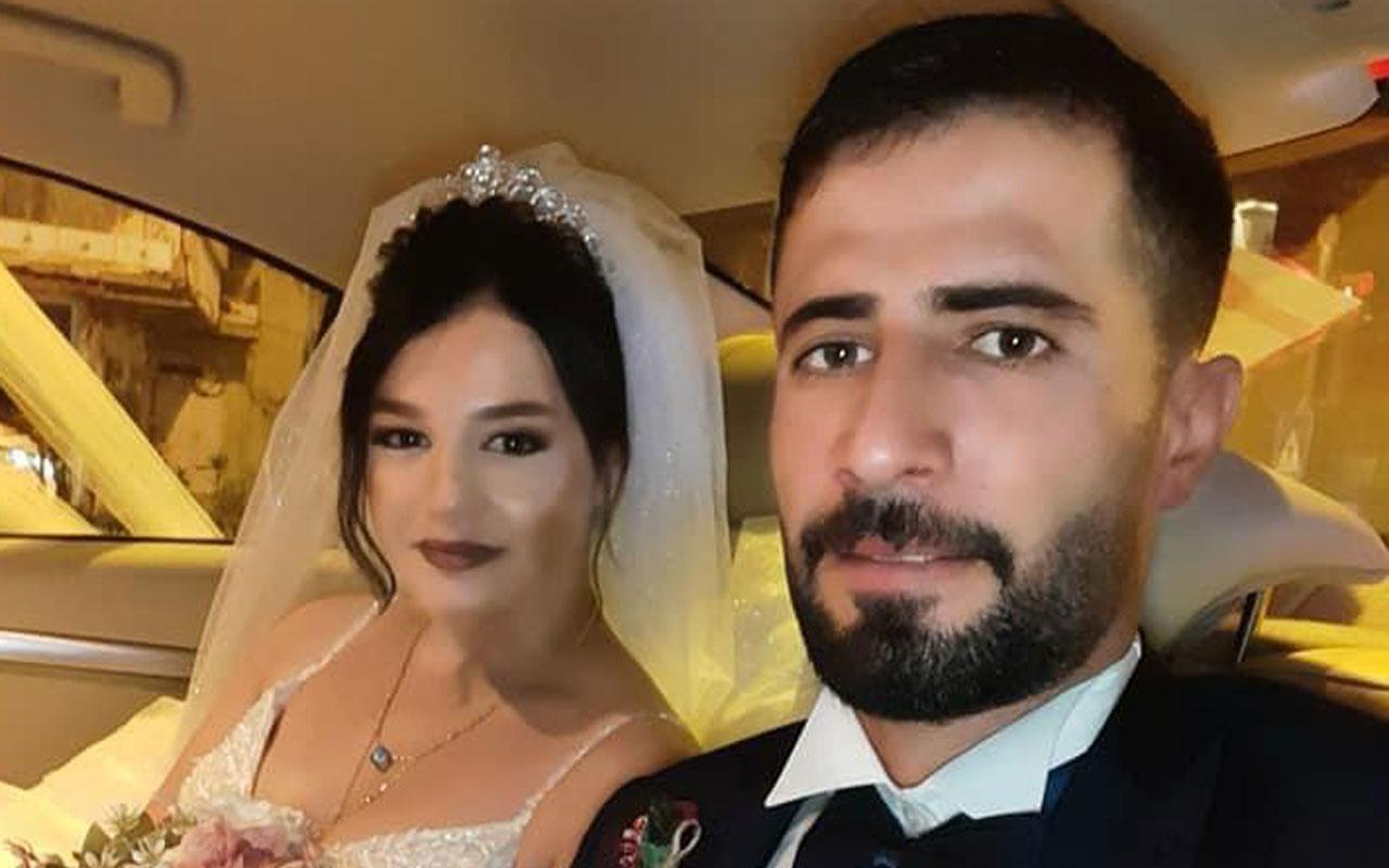 Hatay'da 5 günlük evli çiftin kavgası ölümle sonuçlandı