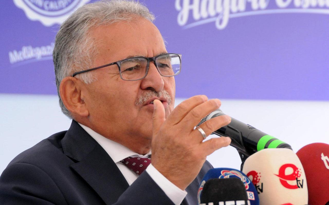 Başkan Büyükkılıç: Kayseri'de 'Yurt bulamıyorum' diyen varsa buyursun gelsin