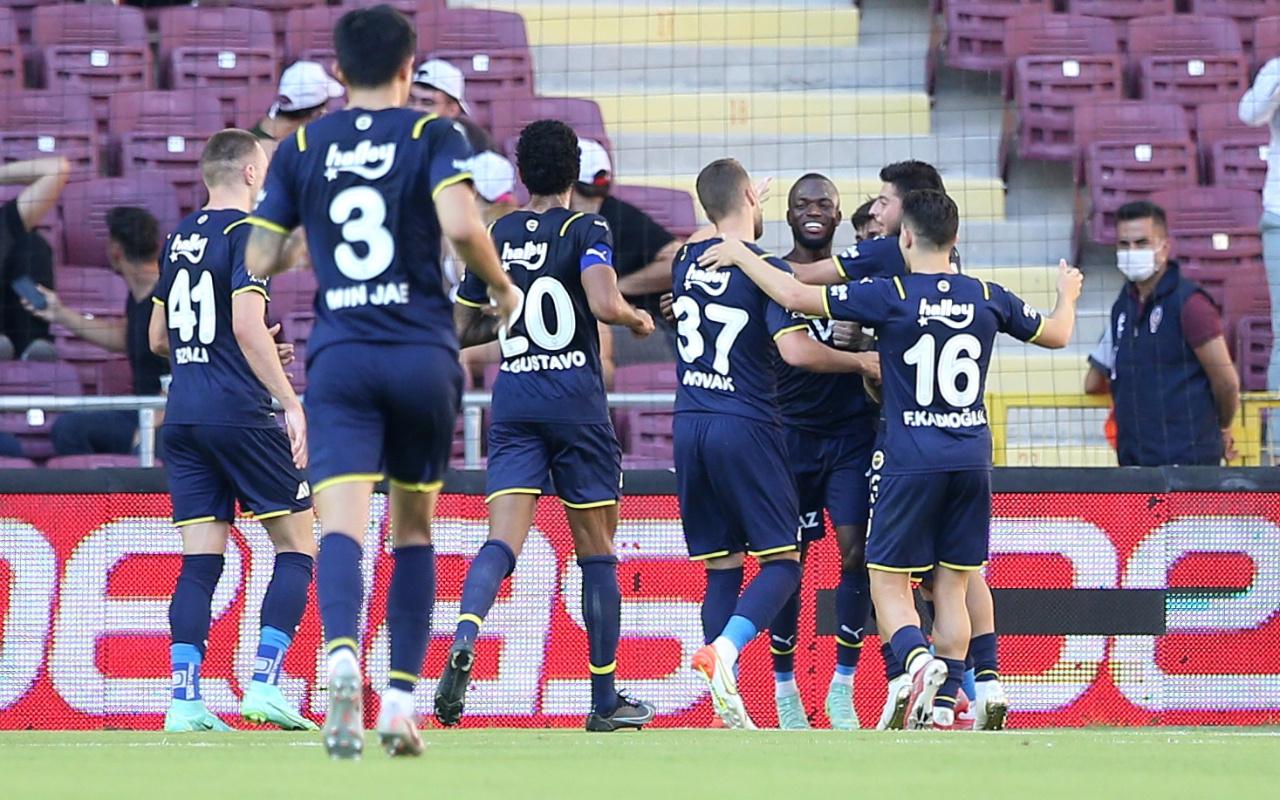 Hatayspor Fenerbahçe maçı golleri ve geniş özeti
