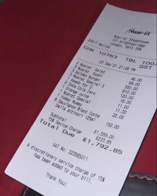 Nusret'in 3 hamburger fiyatı sosyal medyayı salladı! Resmen mini servet!
