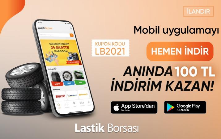 Mobil uygulamayı indir anında 100 TL Kazan