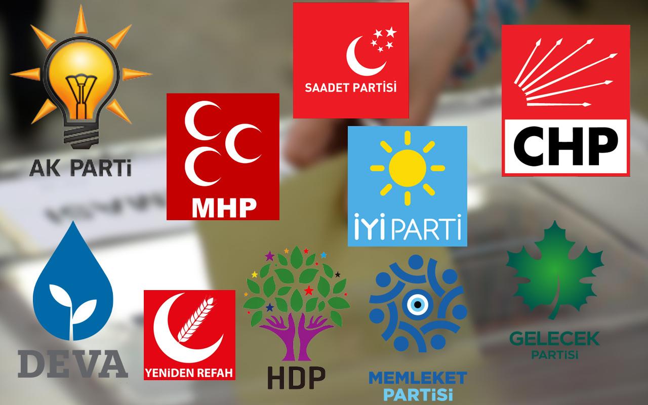 Siyasi partilerin üye sayıları açıklandı! Kritik değişiklikler var: 2 parti düşüşte