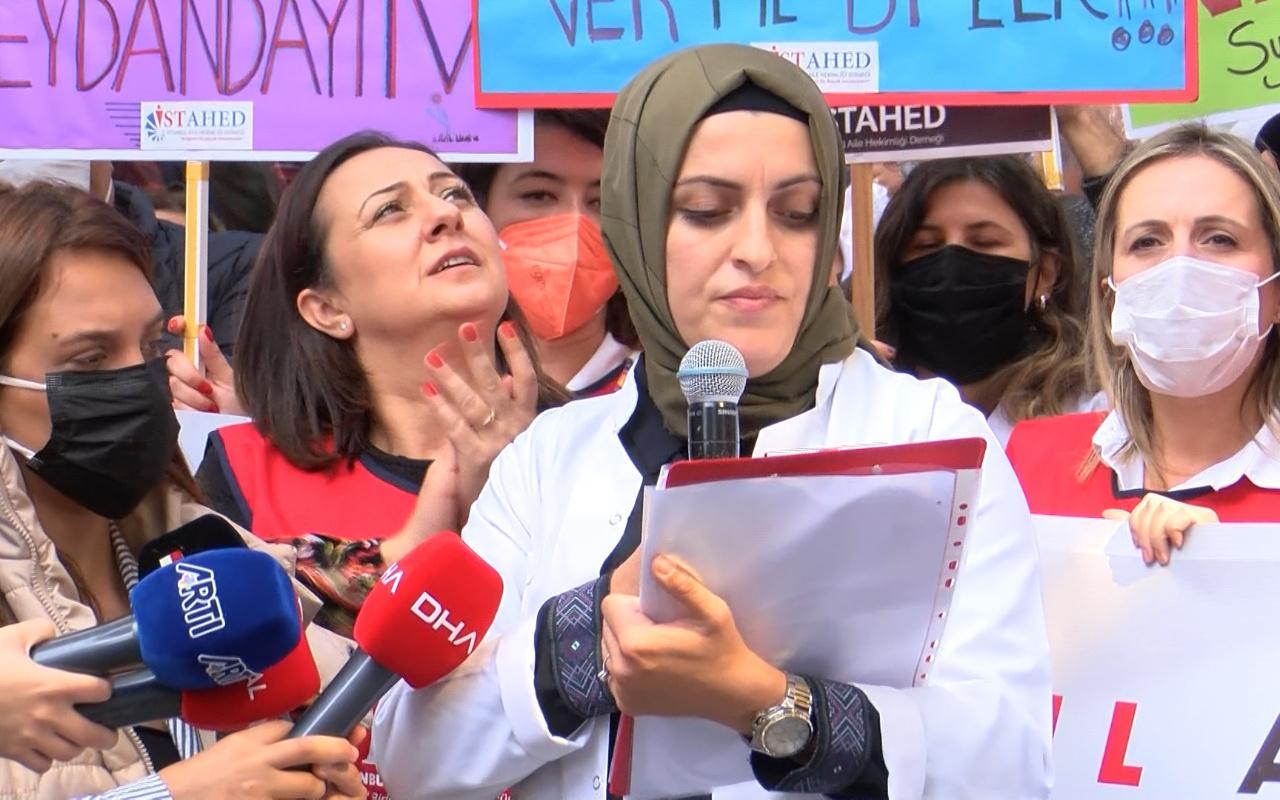 Aile hekimleri protesto etti: Sözleşmeyi geri çekin