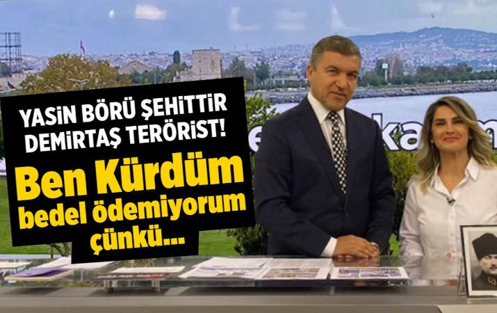 Yasin Börü Şehit'tir Selahattin Demirtaş teröristtir!