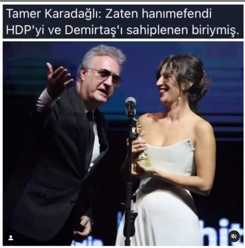 Nihal Yalçın'a sevgilisi Berker Güven ve Ceren Moray'dan Tamer Karadağlı'ya karşı destek