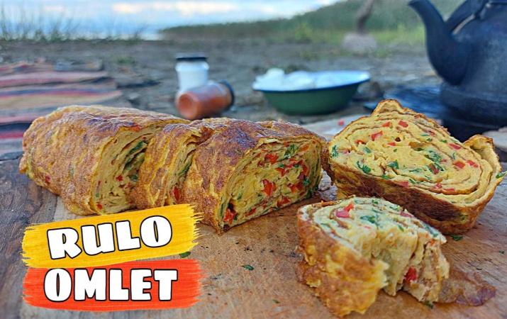 Rulo omlet nasıl yapılır efsane lezzet!