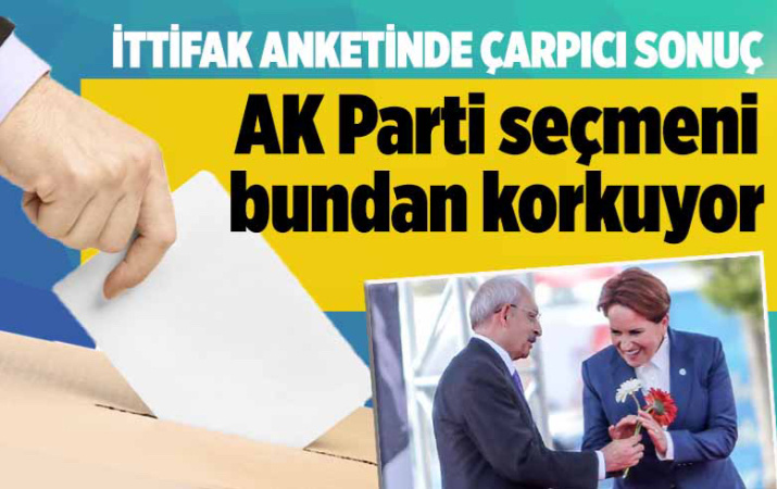 CHP ve İYİ Parti gelirse AK Parti seçmeni en çok bundan korkuyor! Metropoll ankette çarpıcı sonuç!
