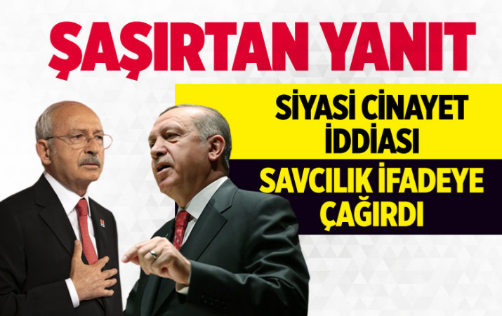 Kılıçdaroğlu'ndan 'siyasi cinayet kaygım var' açıklaması için ifadeye çağıran savcılığa şaşırtan yanıt