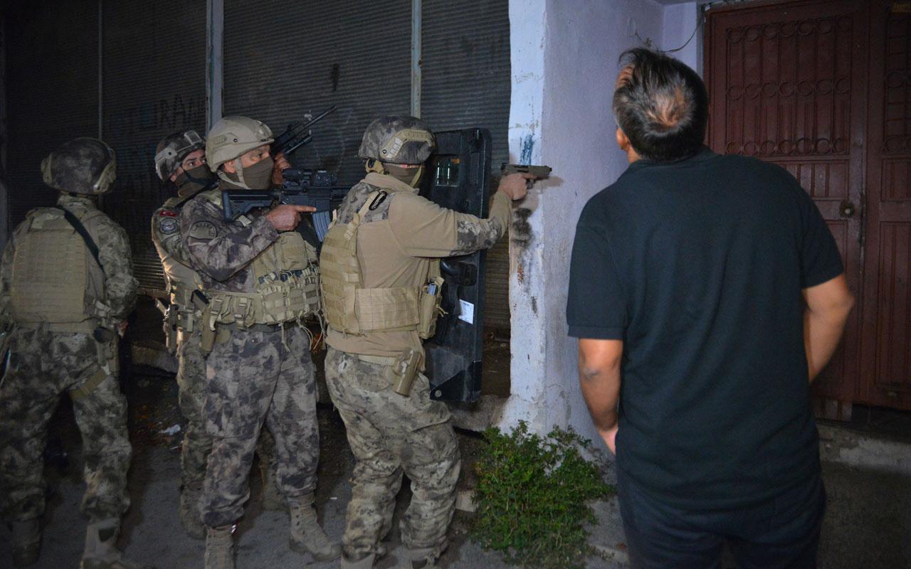 Adana'da Cono aşiretine 500 polis ile hava destekli operasyon: 30 gözaltı kararı